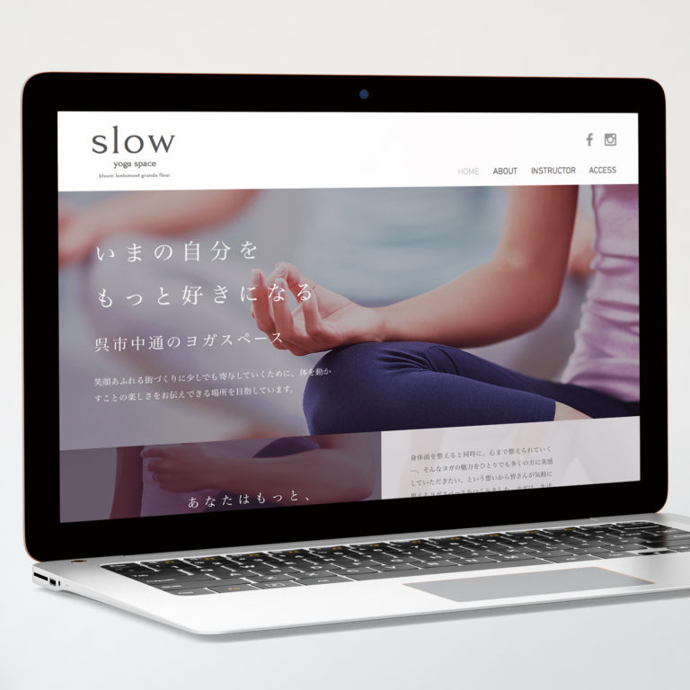 YOGA STUDIO / WEB SITE